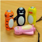 Funky Dynamo Powered Wind Up Torch / Flashlight - Assorted Animal Designs